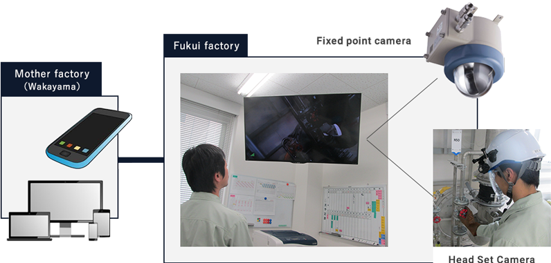 Field monitoring system with wearable camera